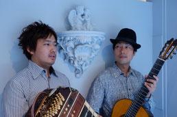 ギター-バンドネオン-タンゴ-グレリオ