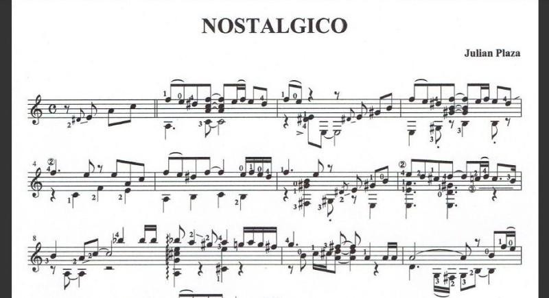 タンゴギターソロ『ノスタルヒコ』