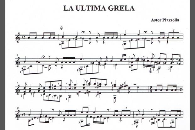 タンゴ・ギターソロ『最後のグレラ』