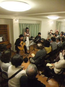 八幡市 ギター・クラリネット・バンドネオン演奏