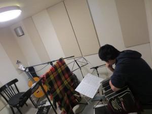 バンドネオン×ギター レコーディング