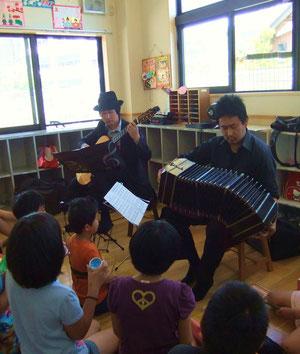 池田市石橋米阪ギター教室 ギター-バンドネオン出張演奏