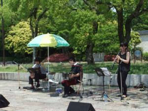 タンゴ-グレリオ-万博公園ローズフェスタ演奏