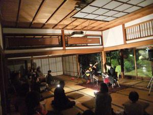 池田市・箕面市ギター演奏派遣-京都-永運院にて