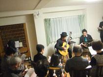 八幡ぶどうの木教会-ギター&バンドネオン