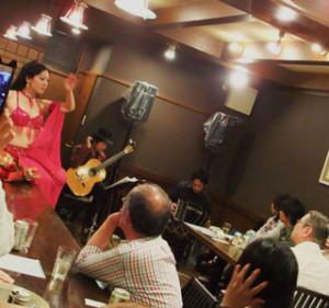 京都 ギター、バンドネオン、ベリーダンス