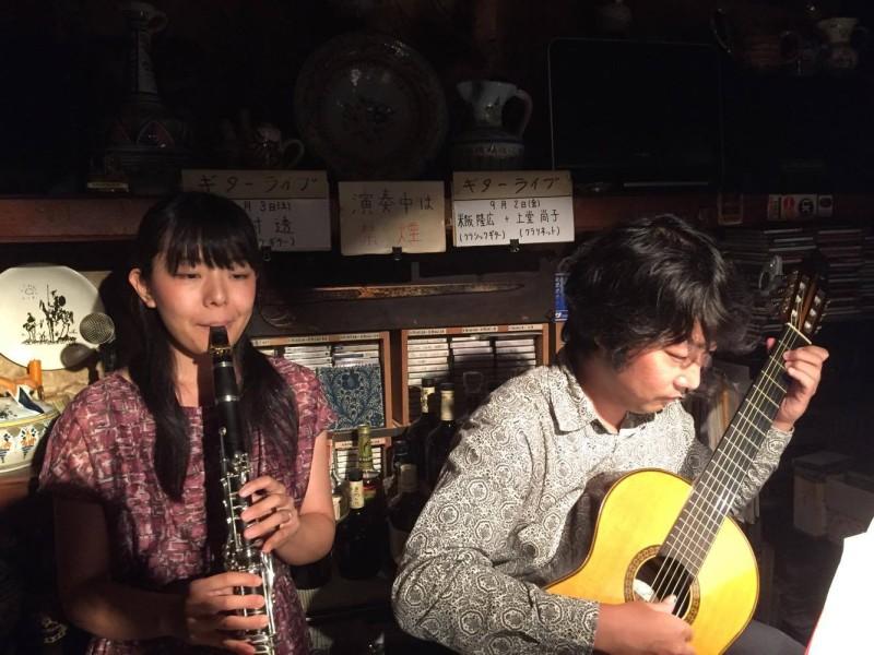大阪グラナダ ギター&クラリネット演奏