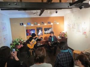 徳重英子+タンゴ・グレリオ(ギター&バンドネオン)
