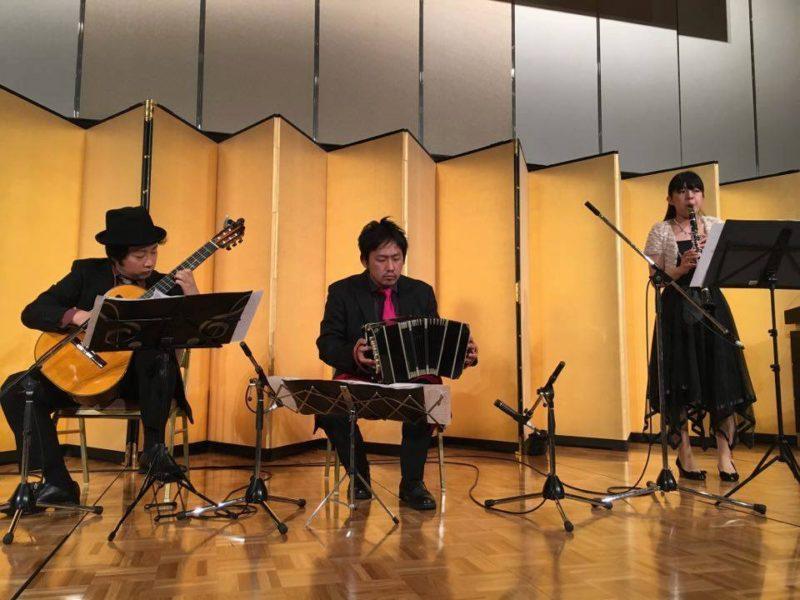 びわ湖大津プリンスホテル バンドネオン-ギター-クラリネット