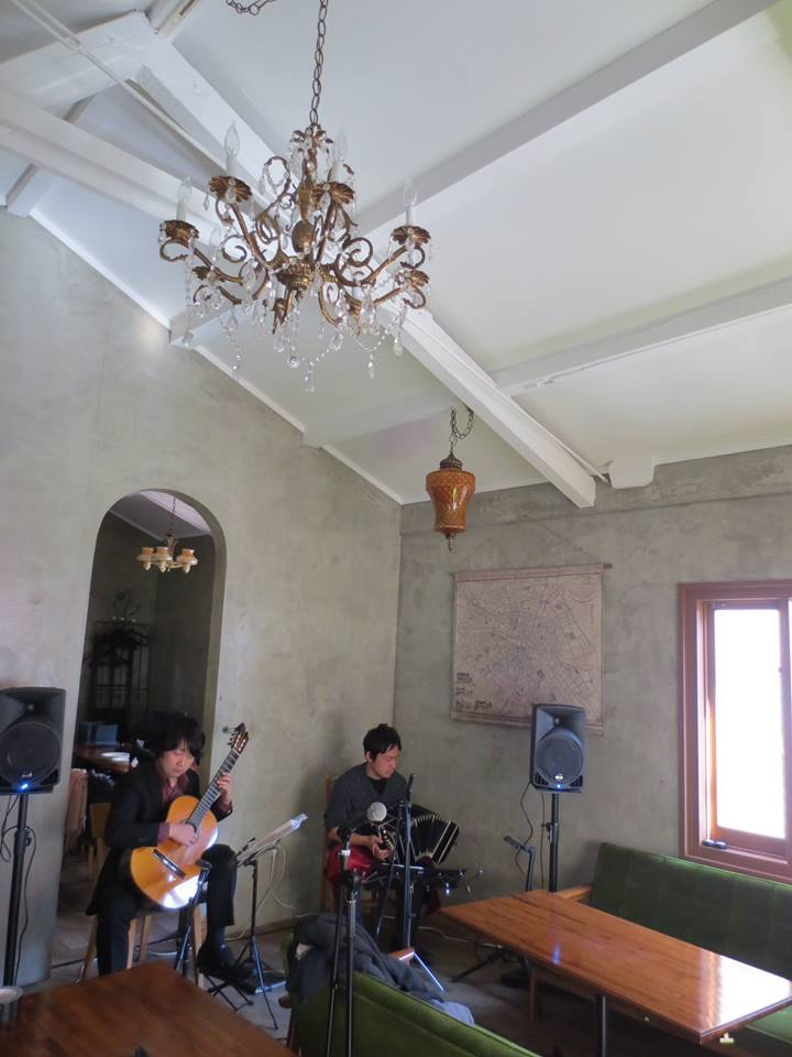神戸 バンドネオン&ギター アルゼンチンタンゴ