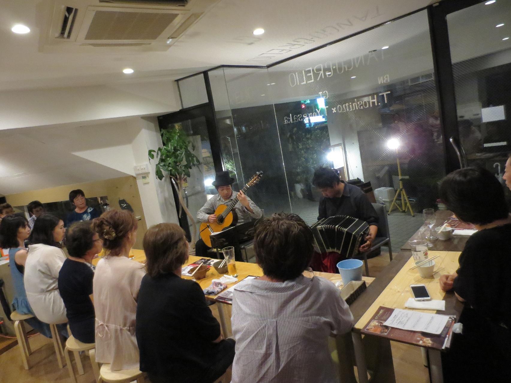 豊中市 ギター&バンドネオン(2)