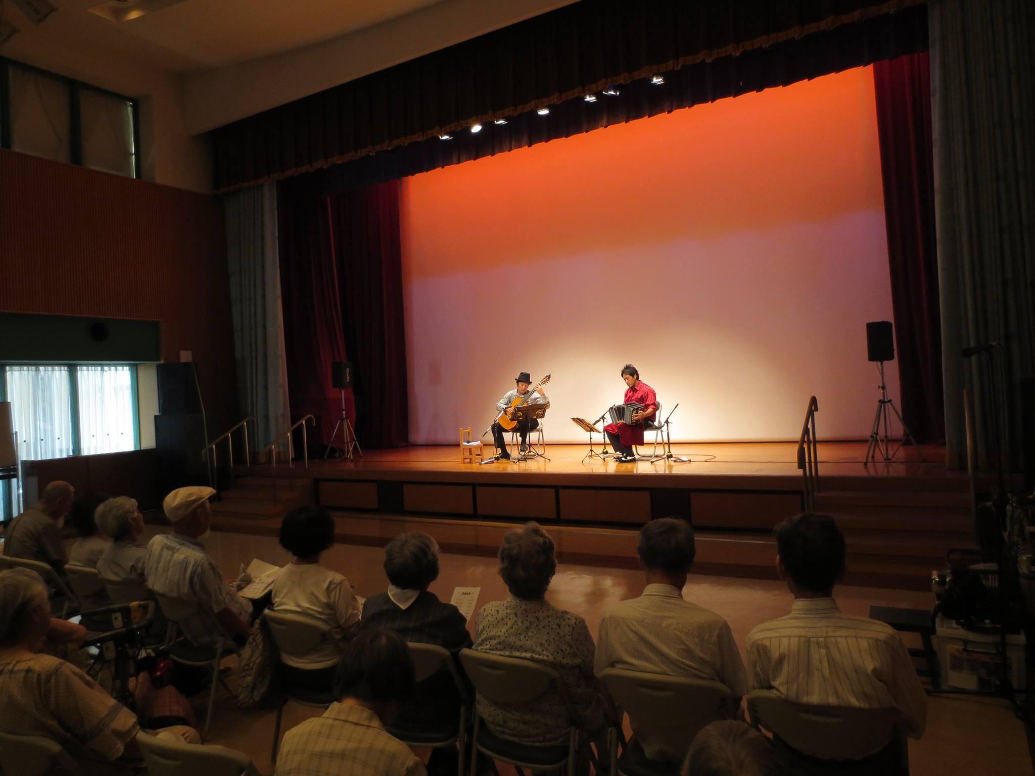 伊丹市 ギター&バンドネオン・コンサート