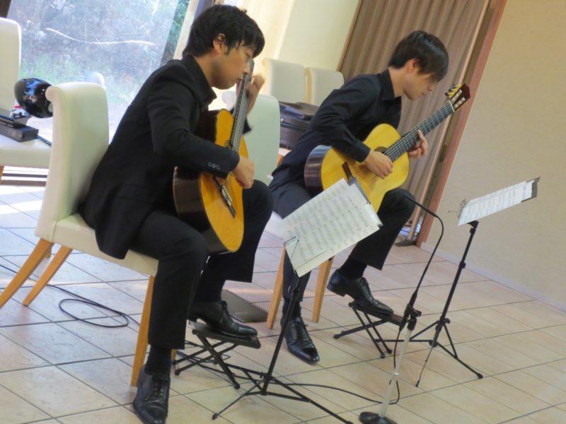 池田市民文化会館 猪居謙&米阪隆広 ギターコンサート