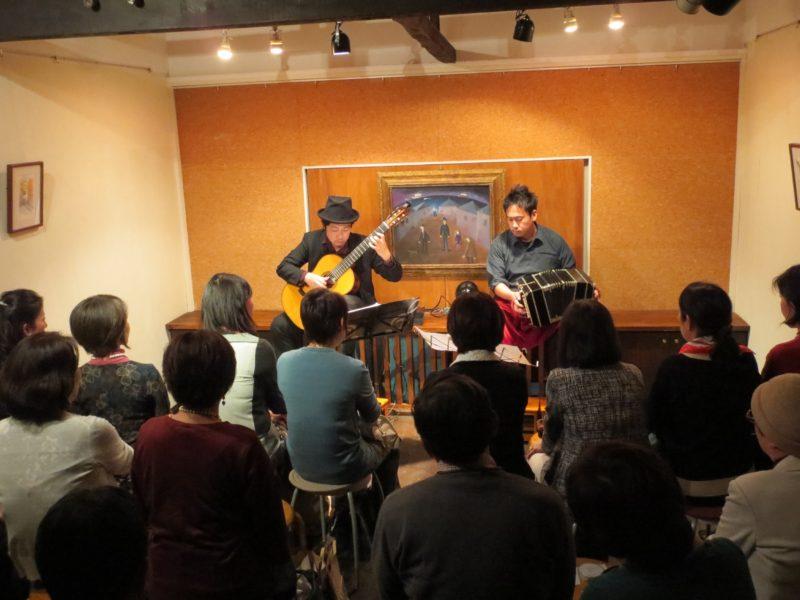 中崎町ティナ・レンテ バンドネオン&ギター タンゴ・グレリオ