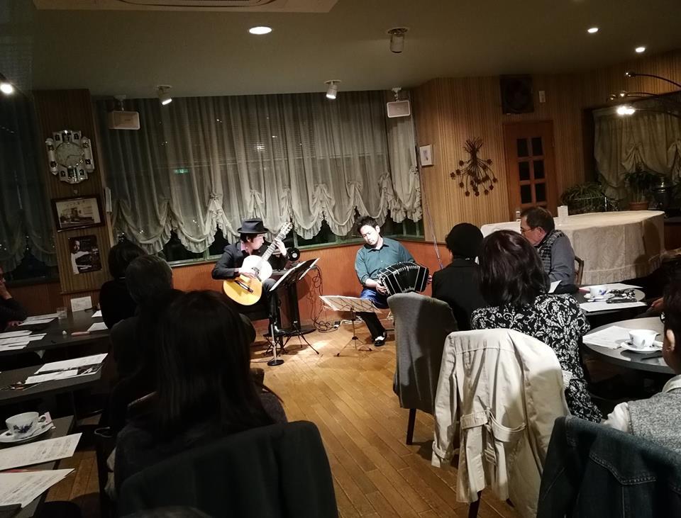 池田市サモアル バンドネオン&ギター