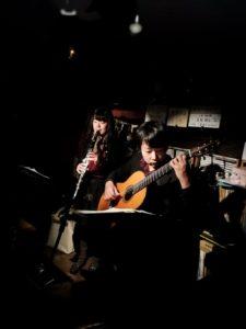 大阪梅田グラナダ クラリネット×ギター