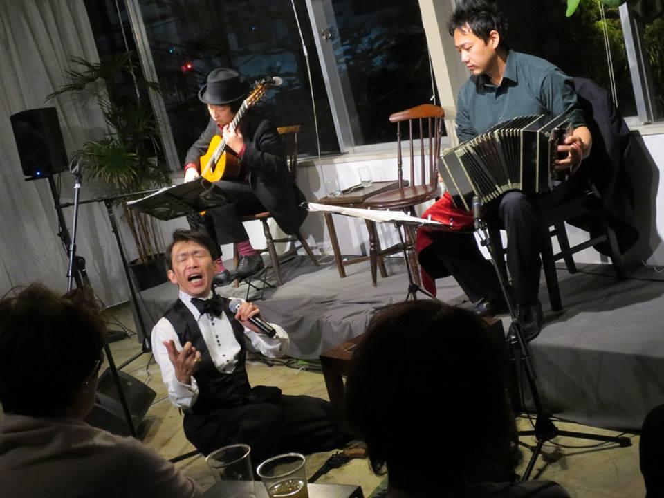ロベルト・杉浦&タンゴ・グレリオ 池田GULIGULI