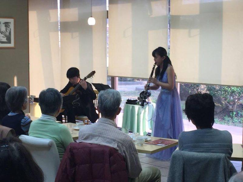 池田市民文化会館Bridge ギター&クラリネット