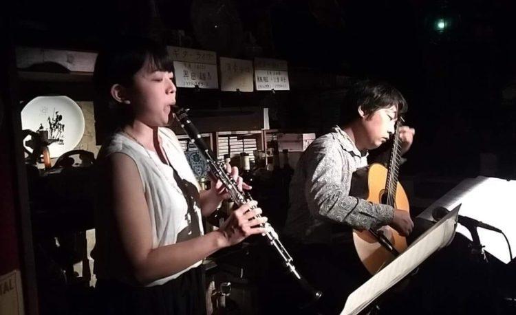 梅田グラナダ ギター&クラリネットLive