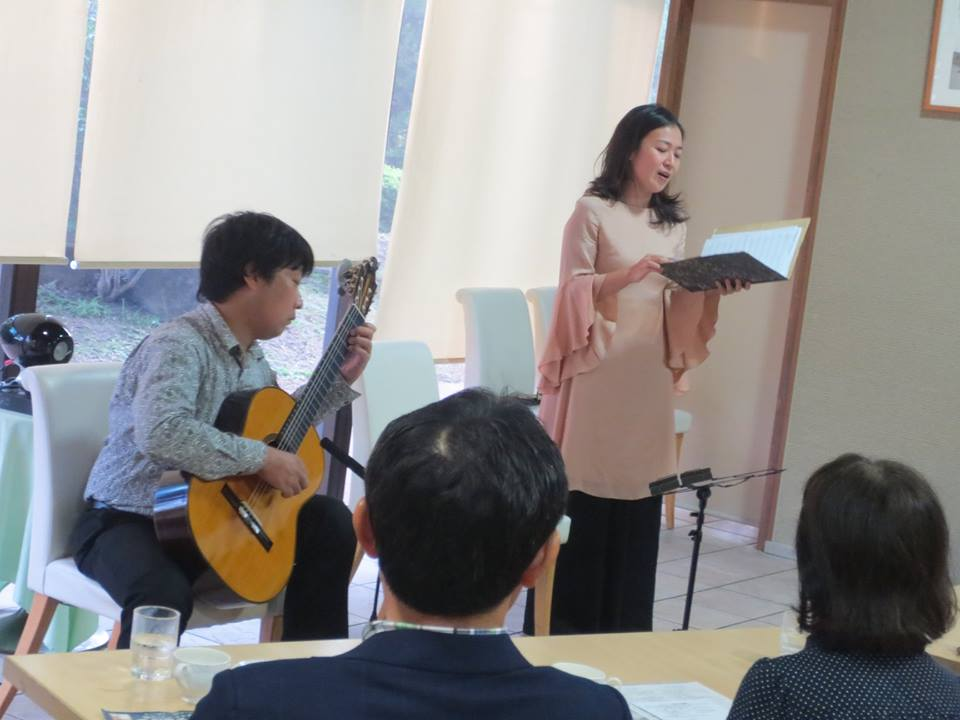 歌とリュート古楽の世界・森 紀吏子&米阪隆広ジョイントコンサート