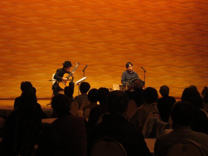 神戸ラッセホール タンゴ・グレリオ バンドネオン/星野俊路 ギター/米阪隆広