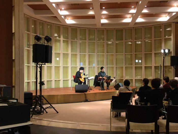 タンゴ・グレリオ バンドネオン/星野俊路 ギター/米阪隆広