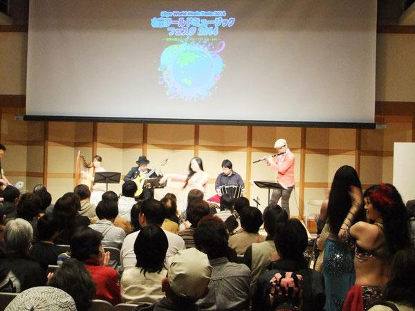 右京ワールドミュージックフェスタ2014