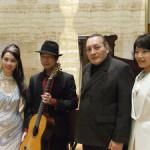 米阪隆広-ギター-吉岡凛-ピアノ-ロベルト-デ-ロサーノ-mako-ボーカル