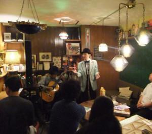 ロベルト-杉浦高松で愛を歌う