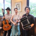 神戸珈琲物語でタンゴ演奏