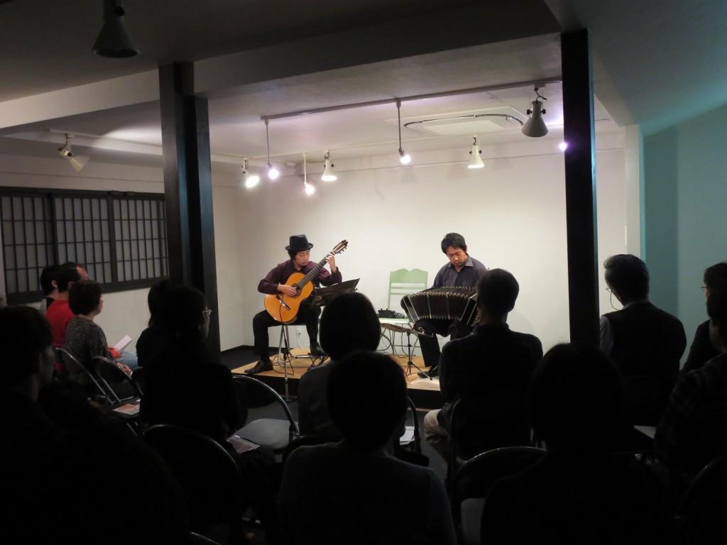 大阪守口市BUNROKU 文禄堤 薩摩英国館 バンドネオン&ギター演奏会