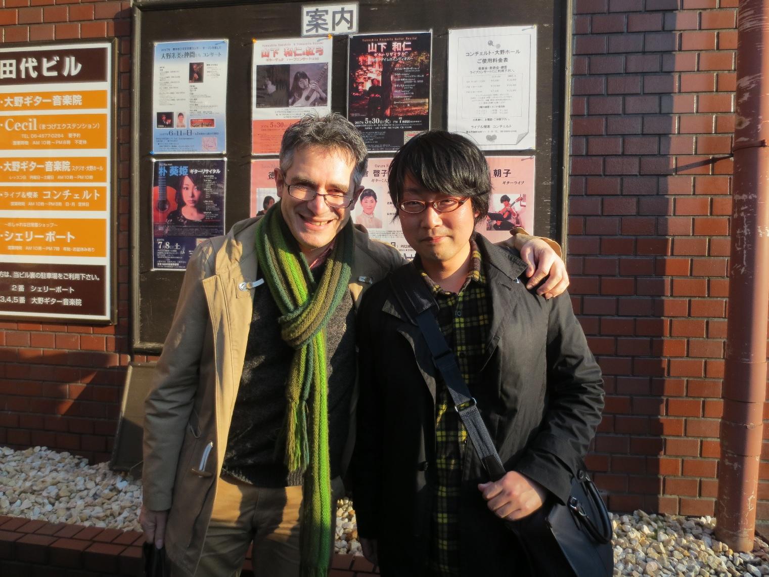 レオナルド・ブラーボ タンゴ・レクチャー&ギターコンサート
