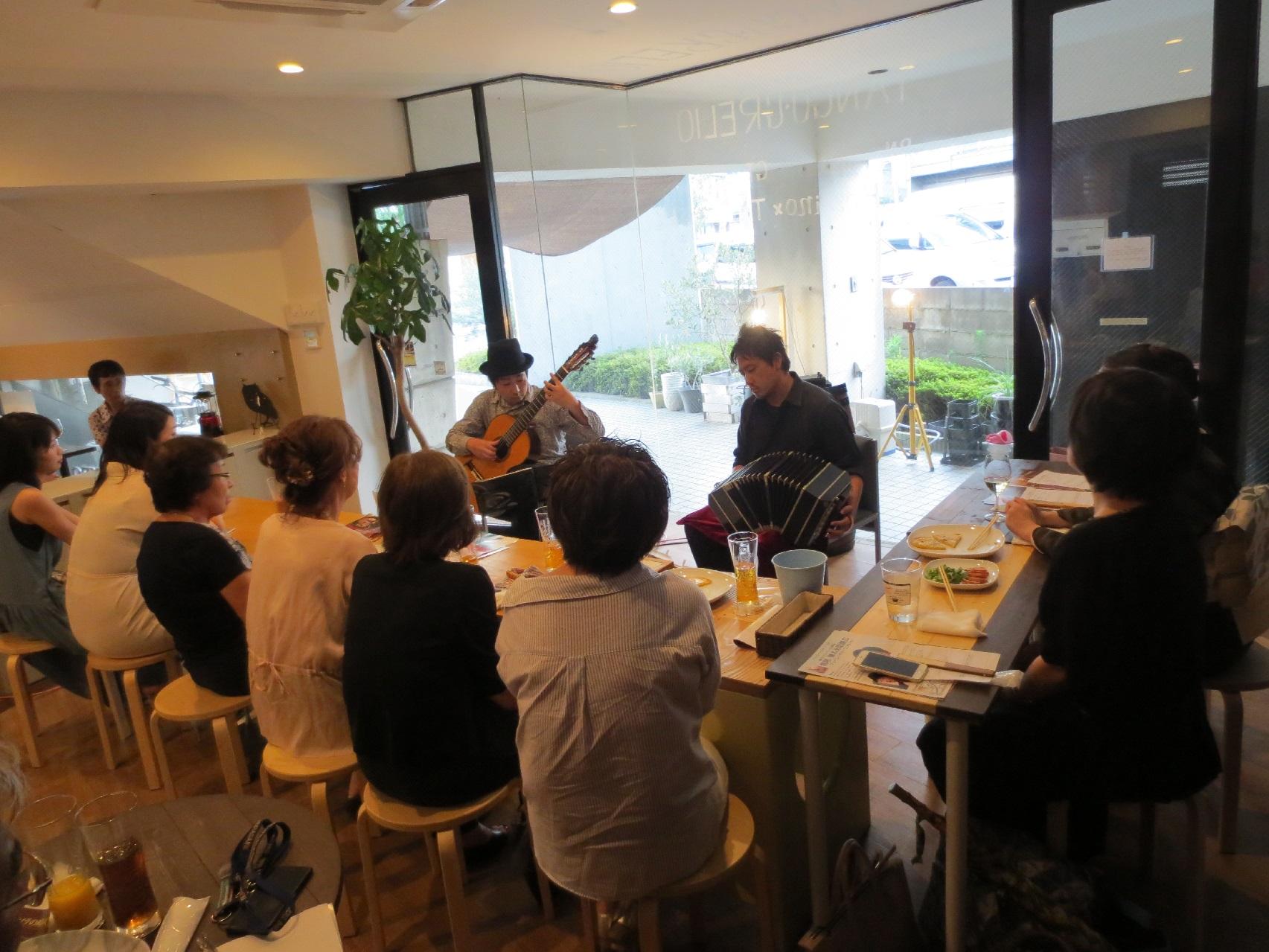 豊中市 ギター&バンドネオン