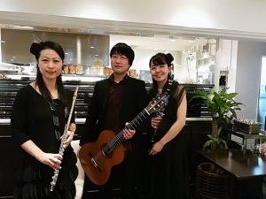 神戸珈琲物語 ギター・クラリネット・フルート