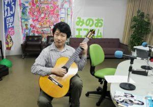 箕面エフエム クラシックギター 米阪隆広