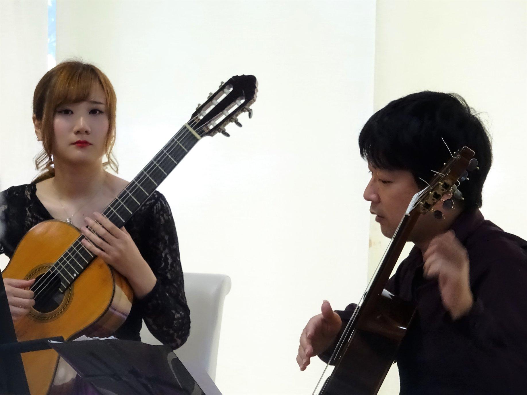 猪居亜美&米阪隆広ジョイントギターコンサート