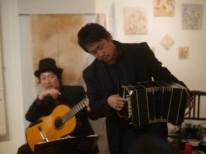 大阪ギャラリー菊 バンドネオン×ギター タンゴ・グレリオ