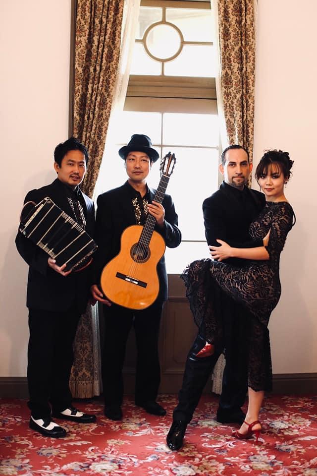 タンゴ・グレリオ~バンドネオン・星野俊路、ギター・米阪隆広  Ernesto Borgonovo & Hanami Ahlam