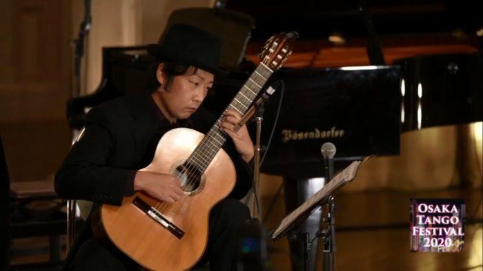 大阪タンゴ・フェスティバル2020 タンゴ・グレリオ ギター・米阪隆広