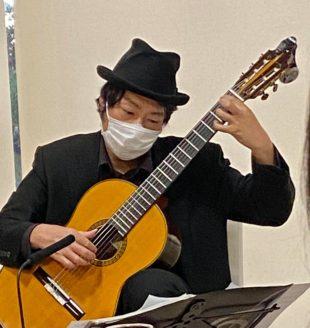 池田市民文化会館Bridge  タンゴ・グレリオ ギター・米阪隆広