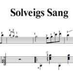 ソルヴェイグの歌 ギター solveigs sang guitar