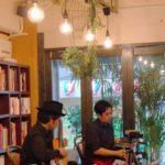 バンドネオン・星野俊路 ギター・米阪隆広 タンゴ・グレリオ 神戸市 カフェあんご