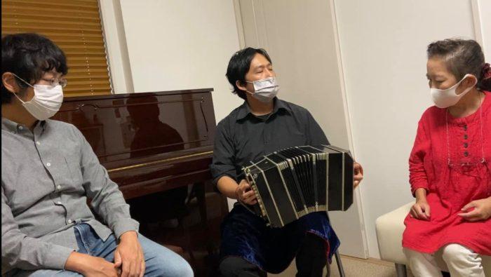 タンゴ・グレリオ(バンドネオン/星野俊路、ギター/米阪隆広)大阪音大